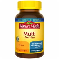 Nature Made Multi for Him Multivitamin Tablets