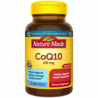 Nature Made CoQ10 Liquid Softgels 100mg 72 Count