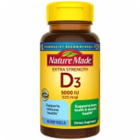 Nature Made Vitamin D3 Liquid Softgels 125mcg