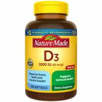 Nature Made® Vitamin D3 Softgels 25mcg - 300 ct