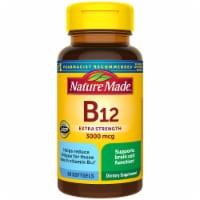 Nature Made B12 Extra Strength Softgels 3000mg