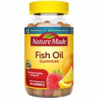 Nature Made® Strawberry Lemon & Orange Flavored Fish Oil Gummies - 90 ct