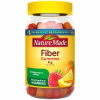 Nature Made Assorted Fruit Flavored Fiber Adult Gummies 6g