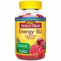 Nature Made® Energy B12 Cherry & Mixed Berries Flavored Gummies 1000mcg - 80 ct