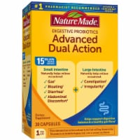 Nature Made Advanced Dual Action Digestive Probiotic Capsules