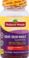 Nature Made Hair Skin Nails Mixed Berry Cranberry & Blueberry Gummies