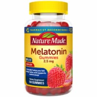Nature Made Strawberry Melatonin Dietary Supplement Gummies