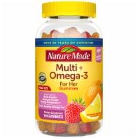 Nature Made Multi for Her Omega-3 Lemon Orange & Strawberry Gummies - 150 ct