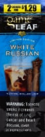 Game Leaf White Russian Natural Rolled Leaf Cigars - 2 ct