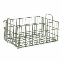 Atlantic 23308042 Cart System Wire Basket, Green