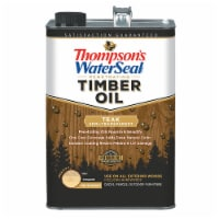 Thompsons WaterSeal Timber Oil Semi-Transparent Teak gal - 1 gallon each