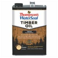 Thompsons WaterSeal Timber Oil Transparent Teak gal - 1 gallon each