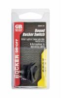 Gardner Bender Rocker Switch Black/Red 1 pk - Case Of: 1; Each Pack Qty: 1; - Count of: 1