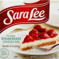 Sara Lee Classic Strawberry Cheesecake