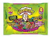 Warheads Mixed Candy Pucker Party Pack - 20 oz