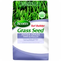 Scotts Turf Builder Zoysia Sun/Partial Shade Grass Seed and Mulch 5 lb. - Case Of: 1;