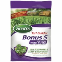 Scotts Turf Builder Bonus S Weed & Feed 29-0-10 Lawn Fertilizer 10000 sq. ft. For Southern - Count of: 1
