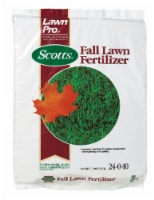 Scotts Lawn Pro All-Purpose 24-0-10 Lawn Fertilizer 5000 sq. ft. For All Grasses - Case Of: - Count of: 1