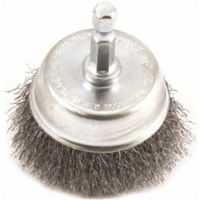 Forney 2 In. 1/4 In. Hex Fine Drill-Mounted Wire Brush 72730