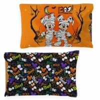 Jay Franco Mickey and Minnie Mouse Trick or Treat Pillowcase - Standard