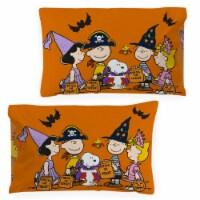 Jay Franco Peanuts Trick or Treat Pillowcase - Standard