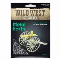 Metal Earth Wild West Gatling Gun Model Kit - 1 Unit