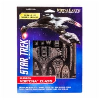 Metal Earth Star Trek Klingon Vor'Cha Class Model Kit