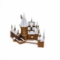 Metal Earth Iconx Premium Harry Potter Hogwarts In Snow Model Kit