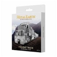 Fascinations Metal Earth Freight Train 3D Metal Model Kit