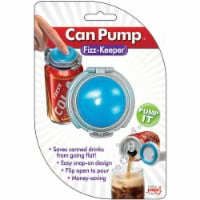 Jokari 0105101P2 Fizz-Keeper Beverage Can Pump & Pour - Set of 2 - 2