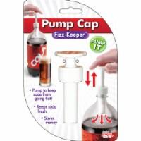 Jokari 05002P12 Carbonated Beverage Fizz Keeper Pump Caps for 2 Liter Bottles, Set of 12 - 12