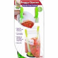 Jokari Hands-Free Baggy Rack Clip Food Storage Bag Holders, Set of 12 - 12