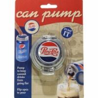 Jokari 18003P2 Pepsi Heritage Logo Soda Can Pump & Pour, Set of 2 - 2