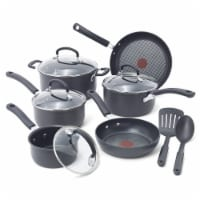 T-Fal Ultimate Hard Anodized Cookware Set - Black
