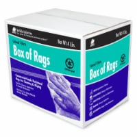Buffalo 1006313 4 lbs Knit Wiping Rags