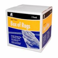 Buffalo™ Box Of Rags Cloth Rags - White - 5 lb