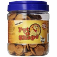 Pet N Shape 10216 16 oz Chik n Chips Dog Treats