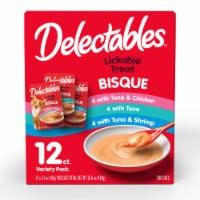 Hartz Bisque Delectables™ Wet Cat Food Variety Pack - 12 ct / 1.4 oz