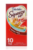 Delectables™ Squeeze Up™ Tuna & Chicken Variety Pack - 10 ct / .5 oz