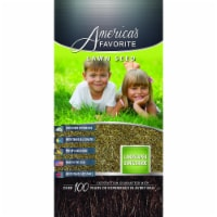 Americas Favorite 002752 50 lbs Landscaper Sun & Shade Lawn Seed Mix, Green