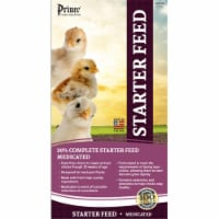 Prince Premium Feed 601150 40 lbs Medicated Chick Starter 20 Percent Crumble - 1