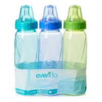 Evenflo Classic Tinted Nursing Bottles -Assorted