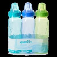Evenflo Classic Tinted Nursing Bottles -Assorted - 3 ct