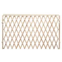 Evenflo Expansion Walk-Thru Room Divider Baby Gate - Natural
