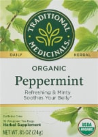 Traditional Medicinals Organic Peppermint Tea Bags