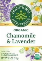 Traditional Medicinals Organic Chamomile with Lavender Tea Bags