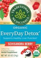 Traditionals Medicinals EveryDay Detox Tea Bags - 16 ct