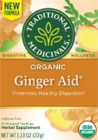 Traditional Medicinals Organic Ginger Aid Tea Bags