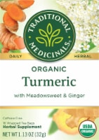Traditional Medicinals Organic Turmeric with Meadowsweet & Ginger Tea Bags