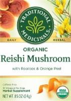 Traditional Medicinals Organic Reishi Mushroom with Rooibos & Orange Peel Herbal Tea - 16 ct